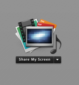 share my screen adobe connect